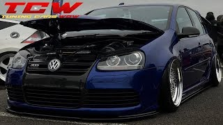 VW Golf MK5 r32 Bagged on BBS RS Rims Build Story by Danny