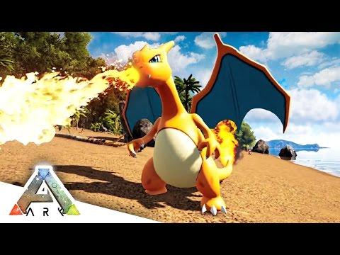 OMG CHARIZARD! - ARK SURVIVAL EVOLVED POKEMON MOD #5