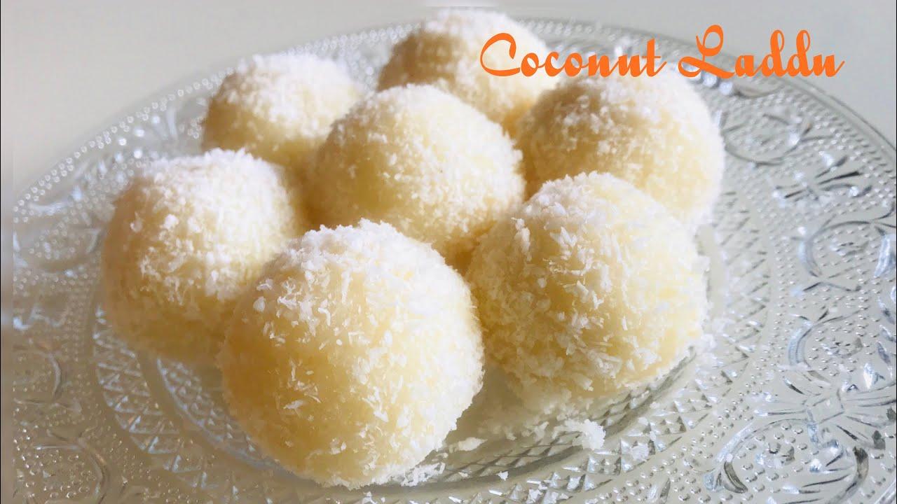 Nariyal Ke Tasty Ladu at Home   Easy Instant Coconut Ladoo Recipe   Halwai Jaise Coconut Laddu