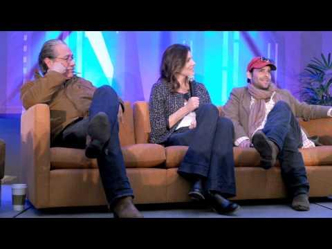 Edward Olmos, Tricia Helfer, James Callis. Dallas ComicCon, SciFi Expo 2013