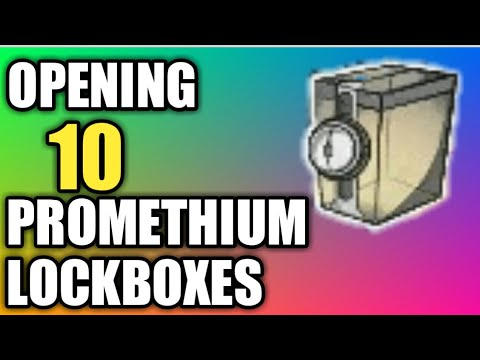 [DCUO] Opening 10 promethium lockboxes!