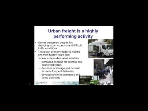 SOLUTIONS webinar:  City logistics