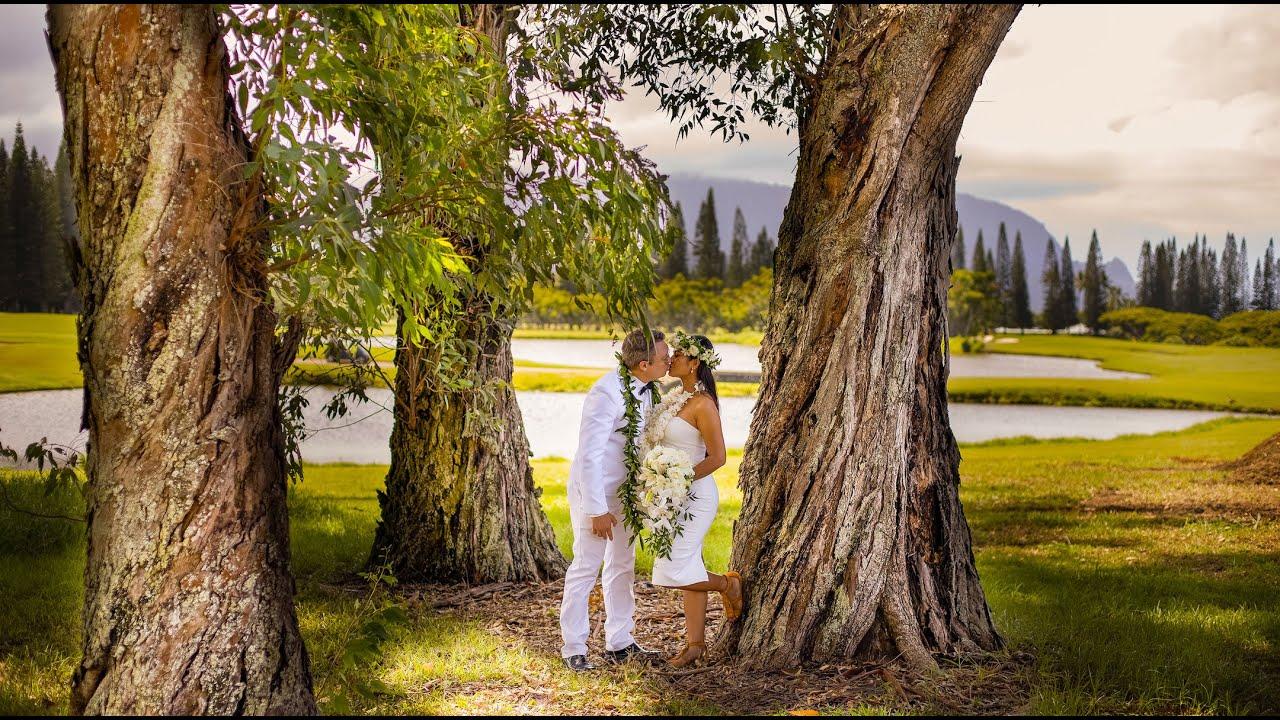 Erik and Pui Wedding in Kauai