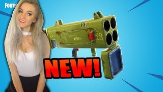 Fortnite - NEW QUAD LAUNCHER UPDATE! 1100+ Solo Wins! 15K Eliminations. Live Gameplay!