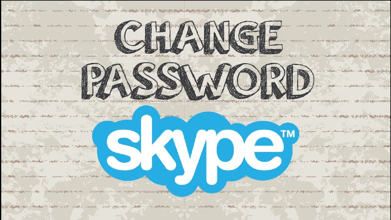 skype change how to log in