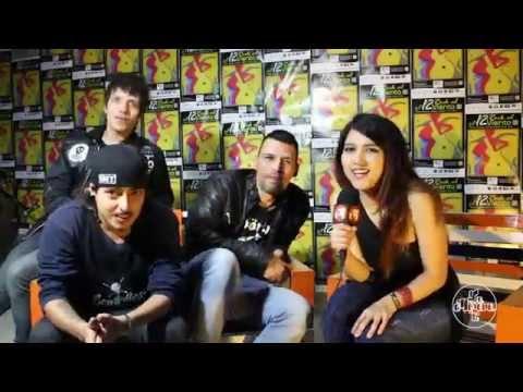 Los Bombillos Peludos en el Festival Rock al Viento.