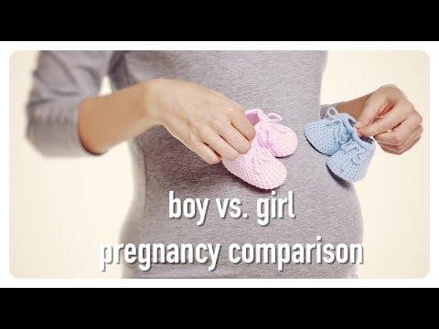 boy or girl? pregnancy comparison | baby #3? | belly progression  | true wives tales | brianna k