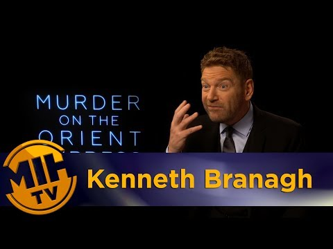 Kenneth Branagh Murder on the Orient Express Interview