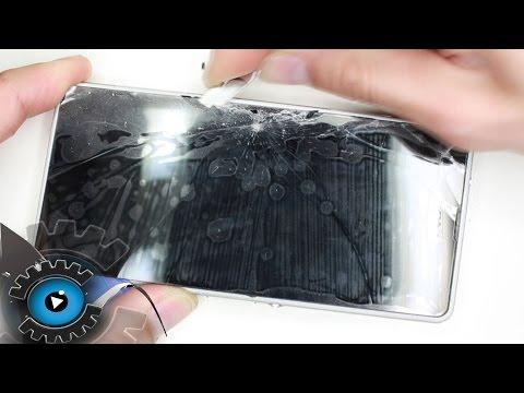 Sony Xperia Z1 Compact Glas Display Wechseln Tauschen Reparieren [Deutsch]