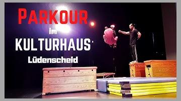 Parkour im Kulturhaus Lüdenscheid