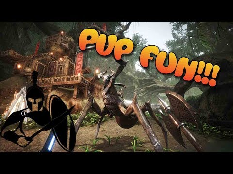 Testlive PVP We are moving in! Raiding Conan Exiles (outdated testlive)
