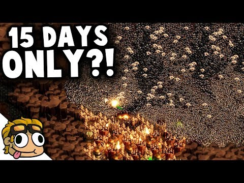 ONLY 15 DAYS UNTIL FINAL WAVE?! | They Are Billions Custom Map Gameplay