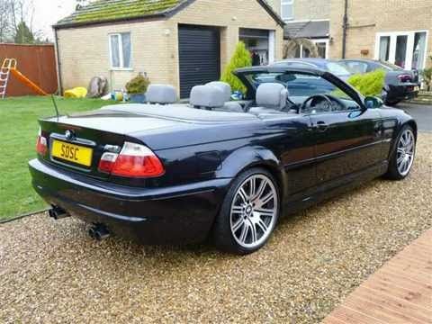 2001 BMW M3 3.2 Convertible For Sale SDSC Specialist Cars - YouTube