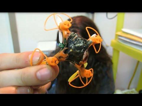 Do Not Buy!! Lian Sheng LS - 112 - Cheapest Quadcopter on the internet - Lipo fire!