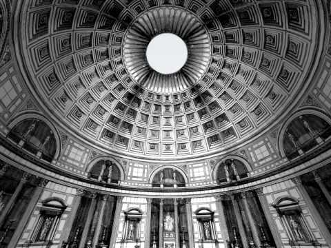 Pantheon Skylight, from 2D to 3D