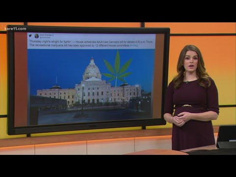 Minnesota House To Vote Today On Legalizing Recreational Marijuana