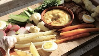 The Grand Aioli: The Ultimate French Vegetable Platter (vegetarian )