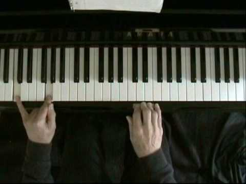 Learn blues piano lesson 2