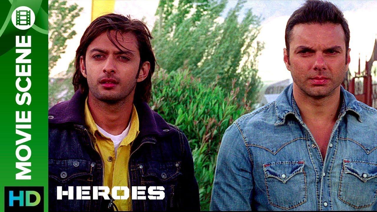 Download The letter of respect | Movie Scenes | Heroes | Sohail Khan, Vatsal Sheth