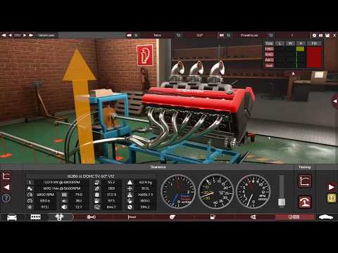 Crazy V12 Truck! (BeamNG/Automation Creation)