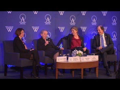 Madeleine Albright '59, Samantha Power, Cass Sunstein | Challenges To Democracy