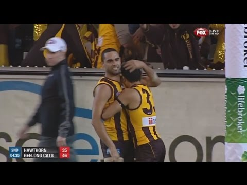 AFL 2013: 1st Preliminary Final - Hawthorn highlights vs. Geelong (HD Version)
