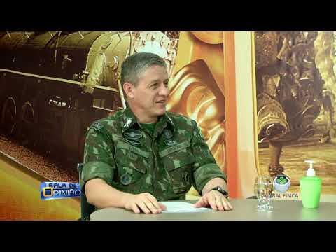 SALA DE OPINIÃO - GENERAL LIMA - COMANDANTE DA 17° INFANTARIA DE SELVA