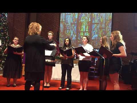 Frankenmuth High School Choir at FUMC
