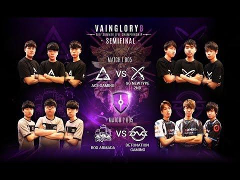 [SEMI-FINALS Set2] ROX Armada vs DetonatioN Gaming EA Vainglory8 Summer Season Live Finals