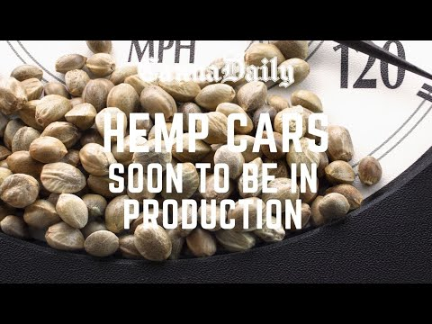 HEMP CARS SOON TO BE IN PRODUCTION