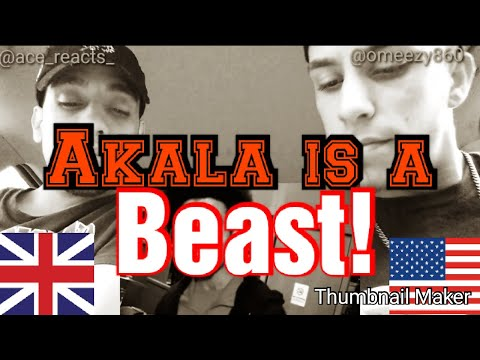 Repeat Akala is a beast!!! Americans react  F64 S2EP2 by