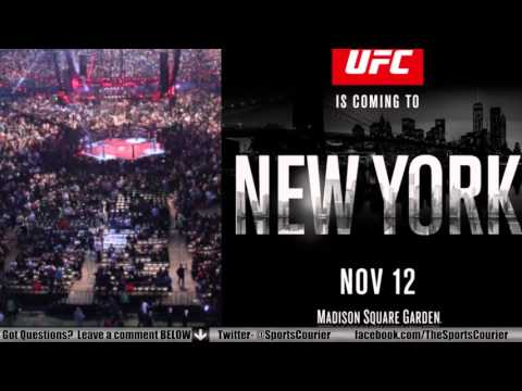 UFC MSG Press Conference: Ronda Rousey, UFC 205, MMA in New York