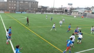 Resumen Rayo Majadahonda A 4 - 2 Las Rozas C.F. U.C.I.C. A (alevines)