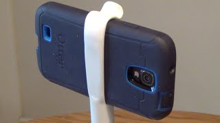 Diy Pvc Smartphone Tripod Mount And Stand.