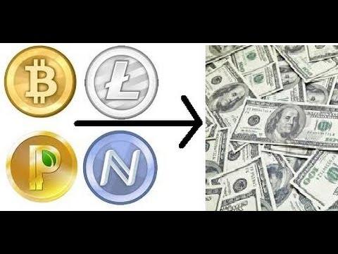 How To Convert Bitcoin Litecoin Namecoin Novacoin Terracoin Peercoin Feathercoin Primecoin To USD