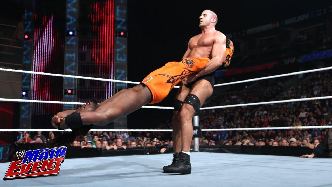 Kofi Kingston Vs. Antonio Cesaro: WWE Main Event, Sept, 11