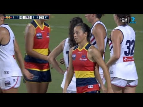 AFLW Round 4 Adelaide Crows Vs Fremantle Dockers 2019 Highlights