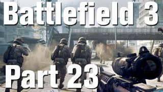 Battlefield 3 Walkthrough Part 23 - Night Shift