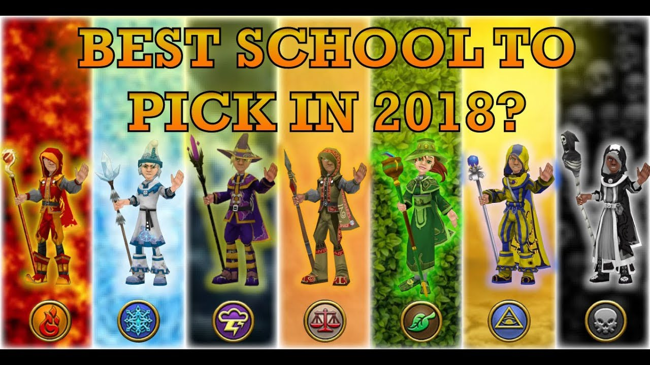 THE BEST SCHOOL IN WIZARD101? Guide UPDATED 2018