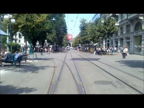 VBZ ZÜRICH TRAM - Linie 13: Frankental - Albisgütli