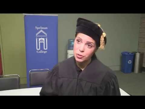 Spelman College Commencement 2014 - Candid Interview With Soledad O'Brien