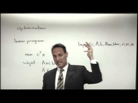 Lecture: Linear Programming and Genetic Algorithms