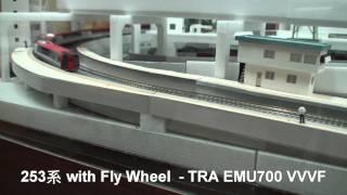 擬真一桿式鐵道控制器 TRA EMU700 VVVF 模式 + 253 低速行駛