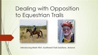 Dealing with Opposition to Equestrian Trails