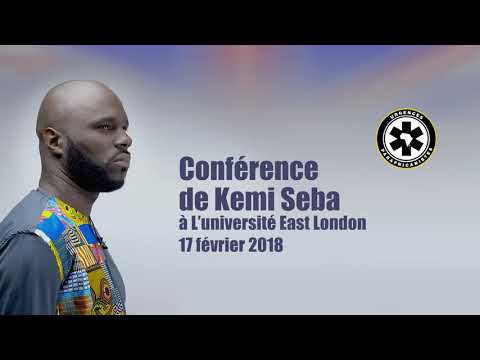Conférence de Kemi Seba à L'université East London