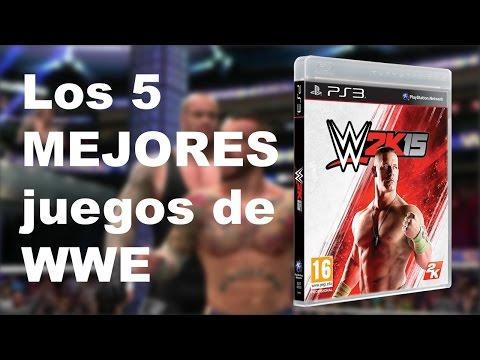 Los 5 MEJORES videojuegos de WWE en TODA la historia