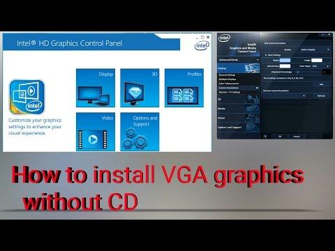 how to install intel hd graphics on windows hindi