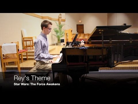 Rey's Theme - piano cover - Star Wars: The Force Awakens