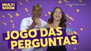 Jogo das perguntas | Fernanda Souza + Thiaguinho | TVZ Ao Vivo | Multishow