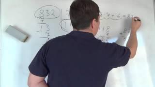 Математика 4 класс. 26 октября. Частное и остаток от деления